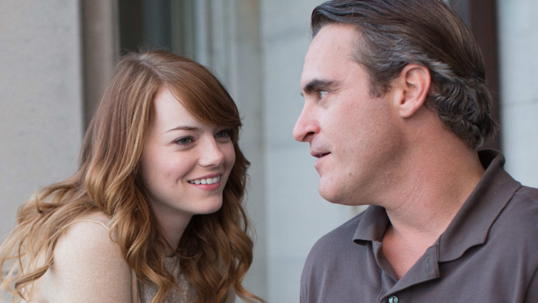 IRRATIONAL MAN - 2015 FILM STILL - Pictured: Emma Stone as Jill and Joaquin Phoenix as Abe - Photo Credit: Sabrina Lantos   © 2015 Gravier Productions, Inc., Courtesy of Sony Pictures Classics