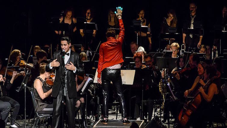 2014.03.01: Phillip Lomax & Seattle Rock Orchestra performs Michael Jackson @ The Moore Theatre, Seattle, WA